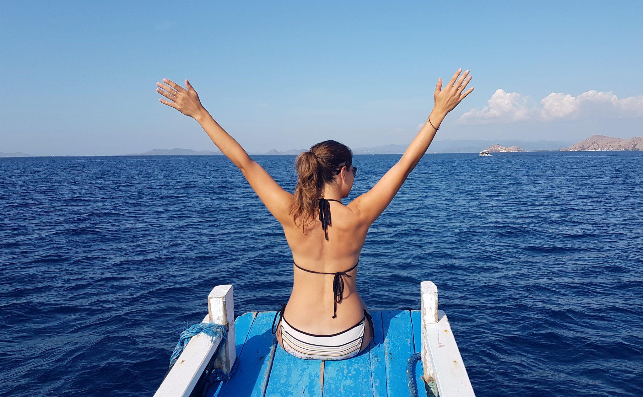 Bootsausflug im Komodo Nationalpark